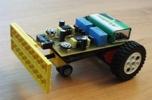 Robot auto-tampon