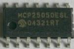 Programmation des MCP250x0