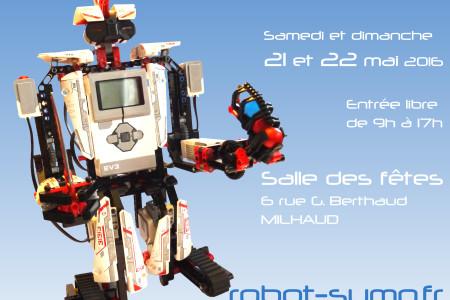 Tournoi National de Robotique 2016 – 21 et 22 mai