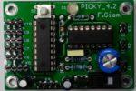 Picky 4.2 : carte à µC pour petit robot