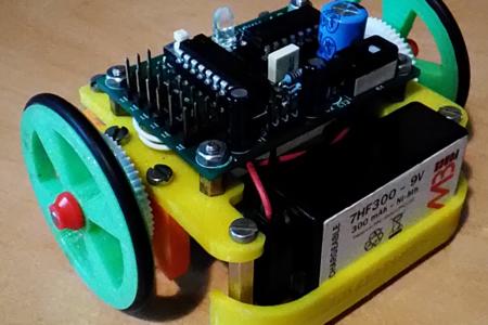 Petit Robot utilisant la carte Picky 4.2