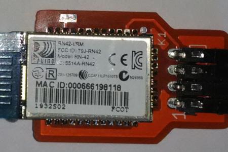 Carte Bluetooth RN42